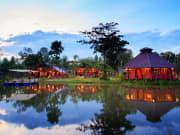 2. Museflower Retreat & Spa Chiang Rai.lake view