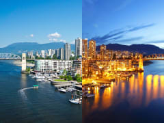 Canada_Vancouver Lookout_Day and Night