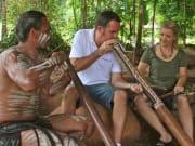 didgeridoo wind instrument