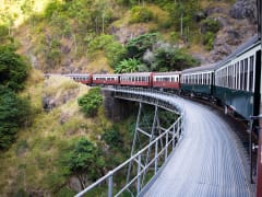 australia kuranda scenic railway train day tour