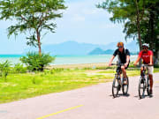 thailand hua hin cycling tour along country roads