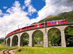 Bernina Express Train, Switzerland