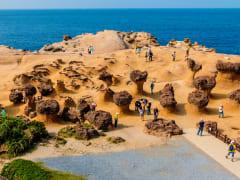 yehlui geopark unique rock formations taiwan