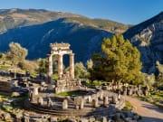 Tholos Delphi Greece Ancient Ruins
