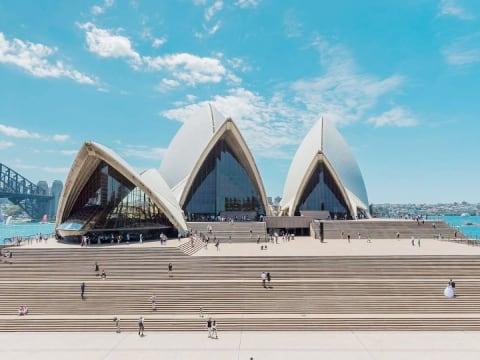 世界遺産オペラ・ハウス/シドニー市内観光