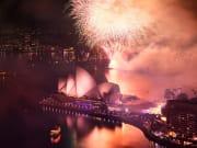 sydney opera house fireworks display