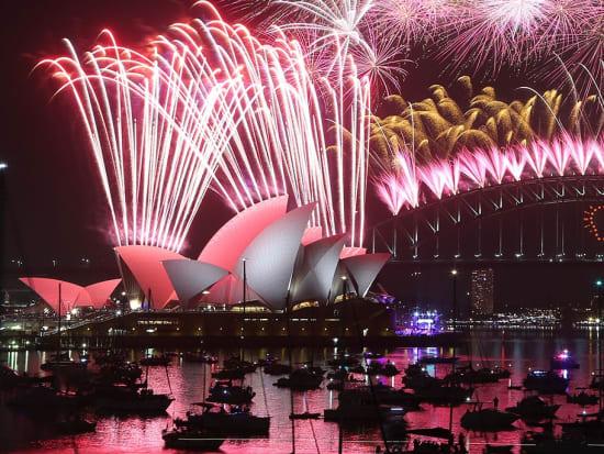 new year cruise sydney fireworks