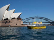 sydney shopper hopper boat near the opera house
