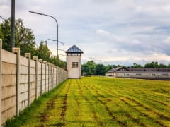 Watchtower, Dachau Concentration camp memorial