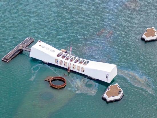 Pearl Harbor Oahu >> Deluxe Pearl Harbor Tour Arizona Memorial Battleship