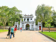 visit to Temple of Literature