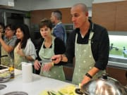 Experience a hands-on cooking class