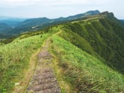 Caoling Historical Trail Hike path at mountaintop