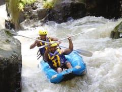 river kayaking in ayung river bali indonesia
