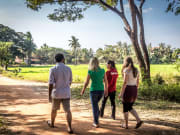 Visiting a village in Siem Reap