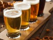Generic_Beer_Tasting glasses of beer