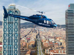 Spain, Barcelona Helicopter Tour
