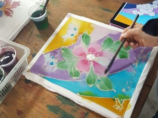 Traditional Batik painting