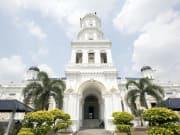 Abu Bakar Mosque in Johor