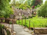England Cotswold village of Bibury