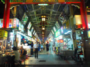 Huaxi Street Night Market shops and food stalls