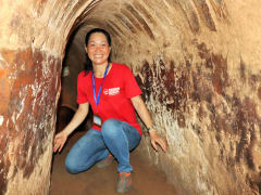 Cu Chi Tunnels guided tour