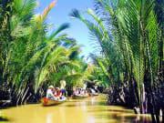 boat ride along mekong delta