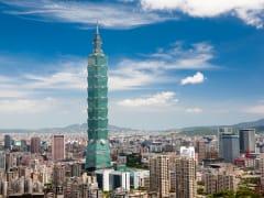 Taiwan Taipei 101 skyscraper