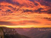 Blueys sunset