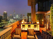 Speakeasy rooftop bar and lounge