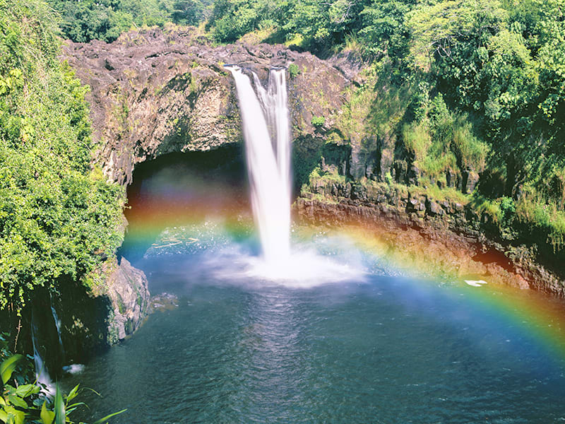 Waterfalls, Rainbows and Secrets