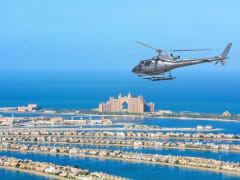 Dubai Helicopter Tour over The Palm Atlantis