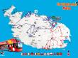Malta Route Map