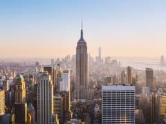 USA_New York_Manhattan_downtown_Empire State Building_sunset_shutterstock_273724124