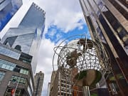 USA_New York_Globe_Skyscrapers_Columbus Circle_shutterstock_512898973