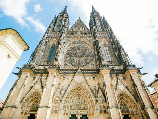 Entrance of St. Vitus Cathedral