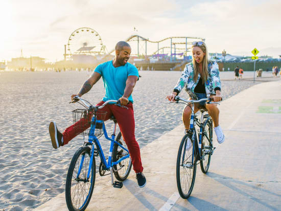 California_Los Angeles_Santa Monica_Bike Ride