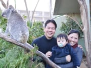 Guests having their photo taken at Koala Breakfast 2_resized