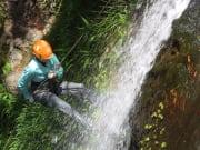 Meghan, guide, 50-ft falls