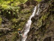 1_Jim, guide, on 30-ft. falls