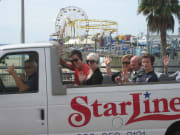 Malibu Stars Homes Tour departing Santa Monica Pier