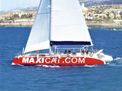Maxicat catamaran cruise from Tenerife