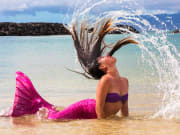 Mermaid-hair-flip