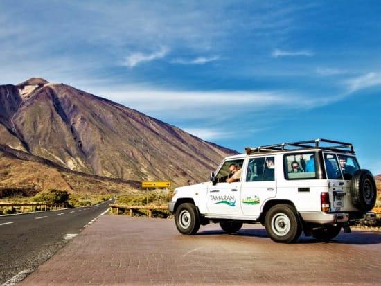 Spain, Tenerife, Jeep safari, Teide Volcano