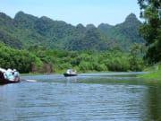 boat trip on Yen river