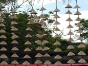 conical hats making Hue Imperial City