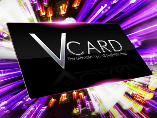 USA_Las Vegas_V Card Nightclub Access