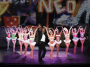 Las Vegas_Vegas! The Show_Neon Dance Act