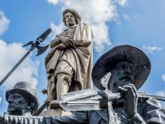 Netherlands_Amsterdam_Rembrandt_Statue