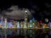 symphony of lights show hong kong